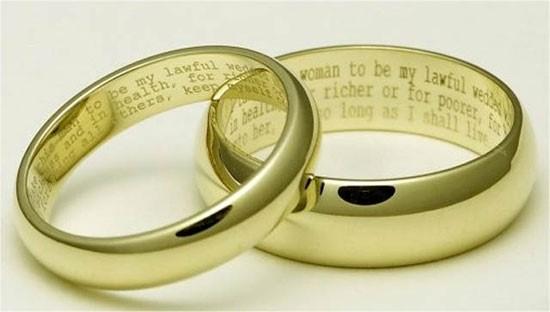 Ideje in nasveti za graviranje vašega poročnega prstana